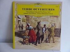 VERDI Ouvertures HERBERT VON KARAJAN Orch Philharmonique  Berlin 2531145