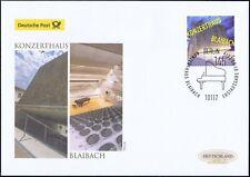 BRD 2019: Konzerthaus Blaibach! Post-FDC der Nr. 3451 mit Berliner Stempel! 1906