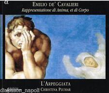 De Cavaliere: Rappresentione Di Anima, Et Di Corpo / L'Arpeggiata, Pluhar - CD