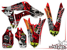 HONDA Dekor DECAL KIT CR CRF 70 125 250 450 AMA NEON EDT. KEN ROCZEN sticker set
