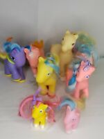 8 Vintage Pre-1990 Hasbro, Remco, Tara Toy My Little Pony Toy Horses Lot