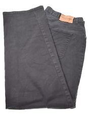 RALPH LAUREN Womens Jeans W36 L27 Black Cotton Straight
