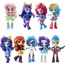 My Little Pony Equestria Boys Girls Figures 9PCS Set Monster Dolls Kids Toys