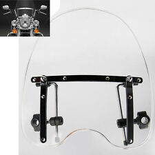 Large Clear Windshield For  motorcycle Harley Honda Suzuki Yamaha Cruiser