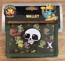 Treasure X 3-fold Sport Wallet W/ Big Bill Pocket Photo Display Card Slot