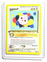 IGGLYBUFF - 1st Edition Neo Discovery - 40/75 - Uncommon - Pokemon Card - NM