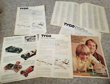 Vintage 1970s Tyco Model Train Ephemera Manuals Catalogs ads Instructions papers