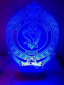 NSW Police LED sign light 280mm x 160mm