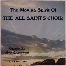 ALL SAINTS CHOIR: Moving Spirit BILL CUMMINGS Private Soul Black Gospel LP Hear