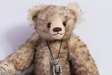 """Bee Skep Bears by Beez 11"""" Jointed Teddy Bear w/ Necklace"""