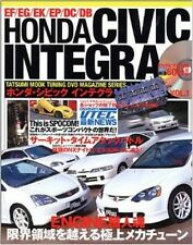 HONDA Civic & Integra Tuning Dress up Guide Book w/DVD