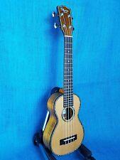 MIM: Ohana Long Neck Soprano SK-250M All Solid Cedar / Acacia Setup Ukulele 281