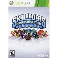 Skylanders Spyro's Adventure - Xbox 360 Game BRAND NEW FACTORY SEALED