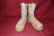 Military Boots 7.5R Desert Combat Tan Hot Weather Belleville Men Boys Work 388