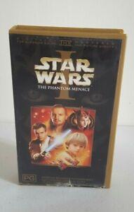 Star Wars I The phantom Menace Lucas Film VHS Video Pal Collectible