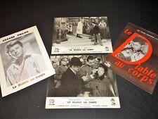 LE DIABLE AU CORPS g philipe m presle  photos cinema + scenario 1947