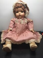 ANTIQUE VINTAGE COMPOSITION DOLL SQUEAKER