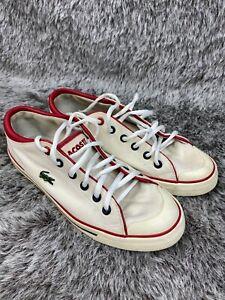 Lacoste Canvas Womens Shoes Size 6 Shore AP