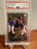 1995 Bowman Derek Jeter Minor League MVP PSA 8