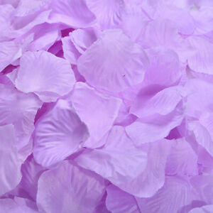 5000 x Various Silk Rose Petals Wedding Party Confetti Flower Colors Decorations