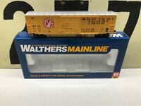 Walthers HO Scale Wabash Valley 50' ACF Ext. Post Boxcar RD # 8102 RTR New