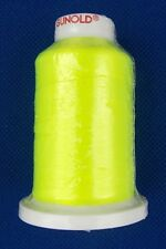 FILO da RICAMO POLY 40 GIALLO Fluorescente 61901 Mt1000 fluo Gunold rod building