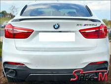 2015-2017 BMW X6 F16 X6M F86 SUV Performance Style Trunk Spoiler 668 Jet Black