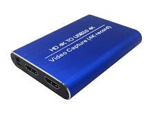 4Kx2K USB3.0 HDMI a HDMI Video HD tarjeta de captura en vivo Box Salida Grabadora 4K60FPS
