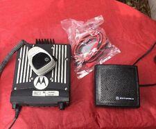 Motorola XTL2500 P25 UHF 380-470 MHz Dash Mount, 40 Watt, Digital, Base Speaker,