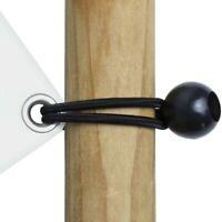 Elastic Ties 15cm Tensioner Tarpaulin Rope Camping Accessories For Tent Canopy