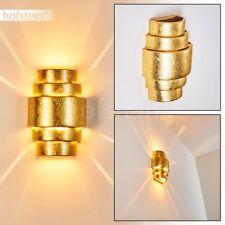goldene Keramik Flur Dielen Wohn Schlaf Zimmer Leuchten Licht Effekt Wand Lampen