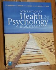 Introduction to Health Psychology in Australia by Kate White, Paul Bennett, Val
