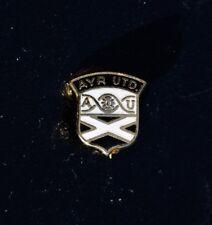 AYR UNITED FOOTBALL CLUB BROOCH MINIATURE PIN BADGE