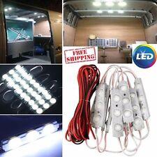 Car Interior Light 30 LED Lamp 12v White Lights Panel Kit LWB Van Trailer Camper