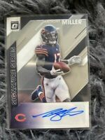 2020 Donruss Optic NFL Auto Signature Series Anthony Miller SS-AM Chicago Bears