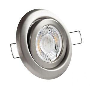 LED Einbaustrahler Set Spot Einbauleuchte schwenkbar wahlweise 12V oder 230V
