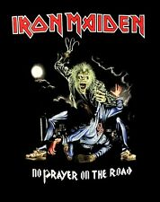 IRON MAIDEN cd cvr NO PRAYER ON THE ROAD Official SHIRT MED New for the dying