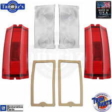 65 El Camino Outer & Inner w/ Gasket Tail Light Lamp Taillight Lens Set USA