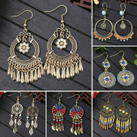 Fashion Women Girls Boho Metal Earrings Drop Dangle Ear Stud Hook Jewelry Gifts