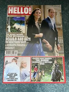 HELLO! Magazine Royal Wedding Prince William & Kate Honeymoon Harry Queen 2011