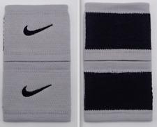 Nike Dri-Fit Stealth Wristbands Tennis Grey/Black Mens Women's