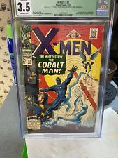 X-Men #31 CGC 3.5 (Q)  1st App Cobalt Man..We Must Destroy..The COBALT MAN!