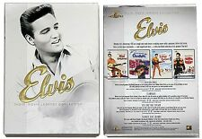 ELVIS  *NEW* MGM MOVIE LEGENDS COLLECTION 4-DVD IN CARBOARD SLIP COVER