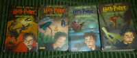 4x Harry Potter: Feuerkelch Halbblutprinz Orden des Phönix Heiligtümer des Todes