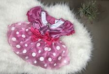 Disney Baby Pink Minnie Mouse Halloween Costume Size 12-18 Months EUC!!
