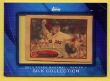 Josh Beckett SP 2012 Topps Silk Collection Short Print 29/50 Boston Red Sox