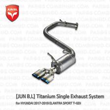 Titanium Single Exhaust System for 17 18 19 ELANTRA SPORT T-GDi [JUN B.L]