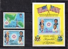 Liberia Bicentenario de Estados Unidos año 1976 (DK-273)