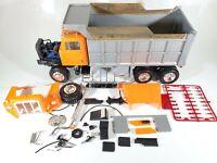 Ertl International Paystar 5000 Dump Truck 1/25 Scale Model Kit - Started