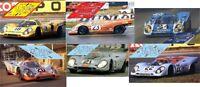 Calcas Porsche 917k 917 k Le Mans 1970  1:32 1:24 1:43 1:18 slot decals